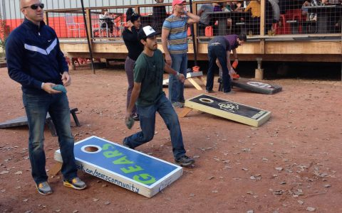 Sanitas Brewing Cornhole Fundraiser